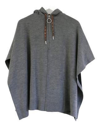 Louis Vuitton Grey Cashmere Jackets