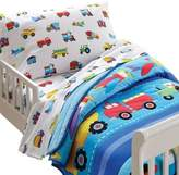 Olive Kids Trains, Planes, Trucks Toddler Sheet Set
