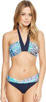 Seafolly Silk Market Bandeau Bikini Top