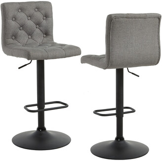Worldwide Homefurnishings Set Of 2 Worldwide Home Furnishings Dex Air Lift Stool