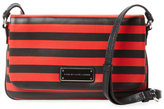 Marc by Marc Jacobs Too Hot To Handle Percy Stripe Flap Crossbody
