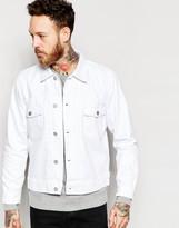 Wood Wood Denim Jacket In White