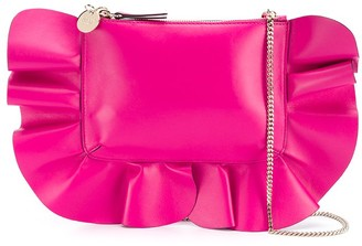 Red(V) Rock Ruffles shoulder bag