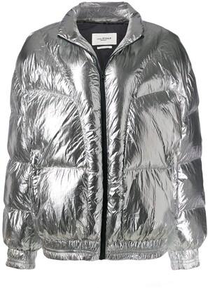 Etoile Isabel Marant Metallic Puffer Jacket