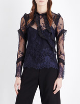 Self-Portrait Eva lace blouse