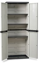DEA Art 202 Trend Line S All Shelves Cabinet, Grey/ Black