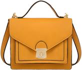 Mellow World Mustard Keri Structured Crossbody Bag