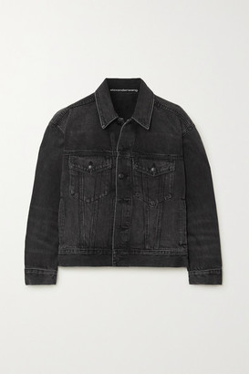 Alexander Wang Game Denim Jacket - Dark gray