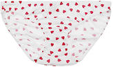 Only Hearts Heart Print Organic Cotton French Bikini