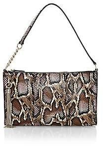 Jimmy Choo Women's Mini Callie Tassel Snakeskin-Embossed Leather Shoulder Bag