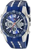 U.S. Polo Assn. Sport Men's US9284 Analog-Digital Chronograph Watch