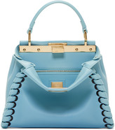 Fendi Blue Mini Peekaboo Bag