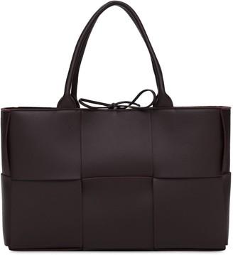 Bottega Veneta Leather & Suede Maxi Intreccio Tote Bag