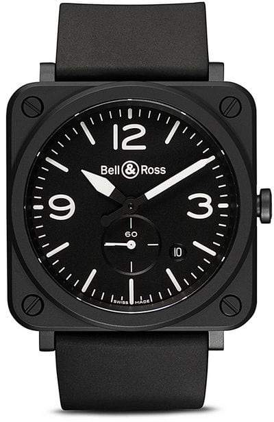 Bell & Ross BR S Black Matte Ceramic 39mm