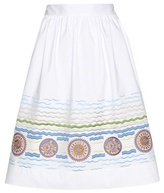 Peter Pilotto Iris Embroidered Skirt