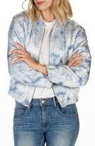 Paige Women's Rosie Hw X Flo Silk Bomber Jacket