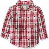 Hatley Boy's Plaid Button Shirt