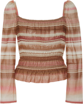 Brock Collection Voile Elasticized Taylor Top