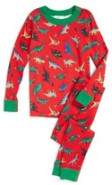 Hanna Andersson Toddler Organic Cotton Fitted Two-Piece Pajamas