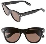 Givenchy Women's 51Mm Retro Sunglasses - Black
