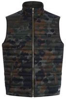Burberry Camouflage Gilet