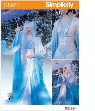 Simplicity Women's Costume Ice Queen Sewing Pattern, 8971