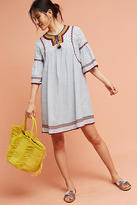 Maeve Yarn Embellished Tunic Dress