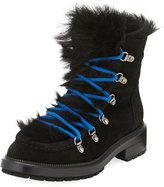 Aquatalia Leni Shearling-Lined Hiker Boot