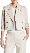 Laundry by Shelli Segal Crop Trench Jacket