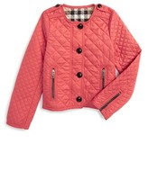 Burberry Girl's Nalla Quilted Jacket