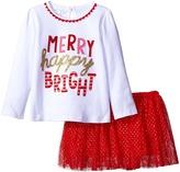 Mud Pie Merry Skirt Set (Infant/Toddler)