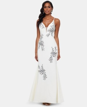 Xscape Evenings Embroidered Gown