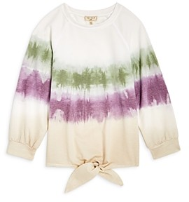 Hayden Los Angeles Girls' Tie Dye Ombre Top -Big Kid