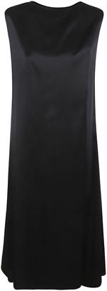Maison Margiela Rear Logo Sleeveless Dress