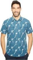 Agave Denim Short Sleeve Linen Palm Shirt