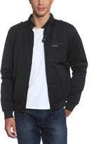 Members Only Black Twill Iconic Racer Jacket - Men's Regular