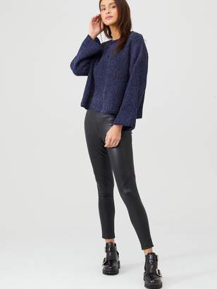 Very Sparkle Knitted Jumper - Blue