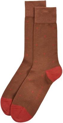 Falke Dot Crew Socks