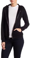 Lauren Moshi Studded Hooded Zip-Up Jacket