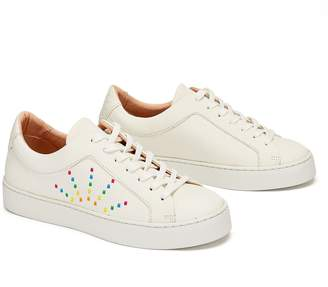 Gracia Nine To Five Laced Sneaker Rainbow Star