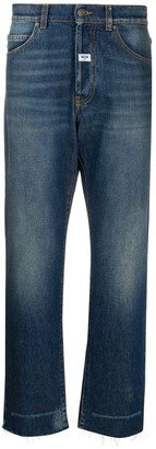 MSGM Wide Cropped Jeans