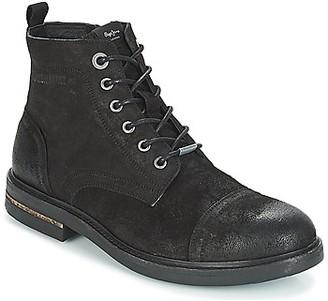 Pepe Jeans Hubert men's Mid Boots in Black