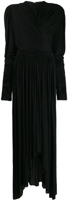 Isabel Marant gathered design gown