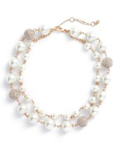 Jenny Packham Women's Multistrand Imitation Pearl Necklace
