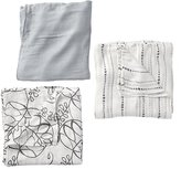 Baby Essentials aden + anais Moonlight Silky Soft Swaddle Blankets (Set of 3)