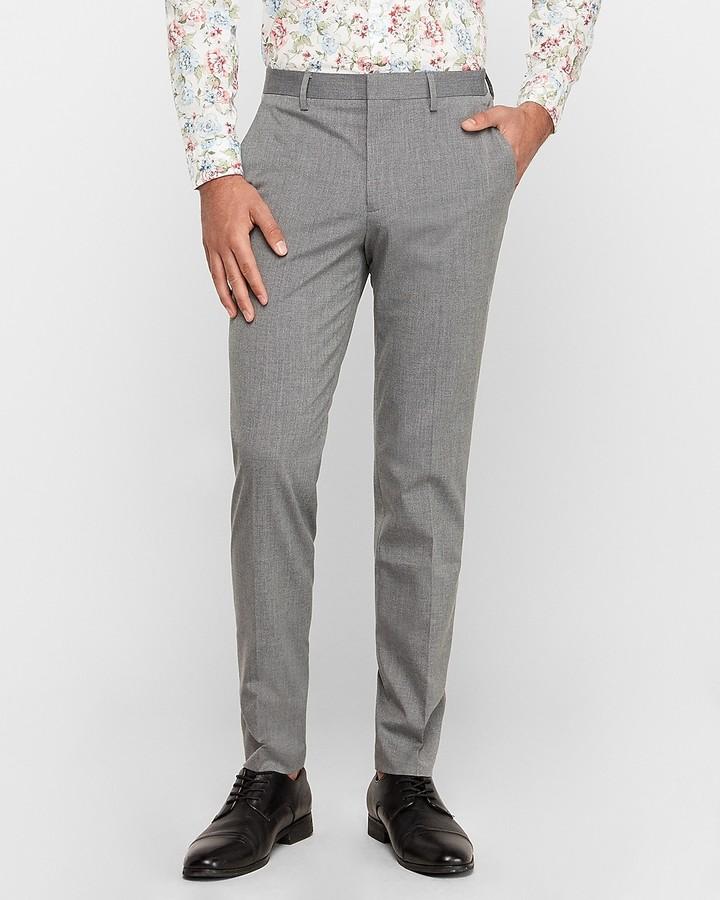 Express Extra Slim Stretch Wrinkle Resistant Dress Pant