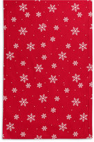 "The Cellar Snowflake Collection 72"" Runner"