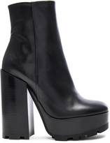 Jil Sander Platform Leather Boots