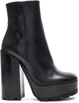 Jil Sander Platform Leather Boots