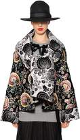 Antonio Marras Reversible Floral Jacquard Coat